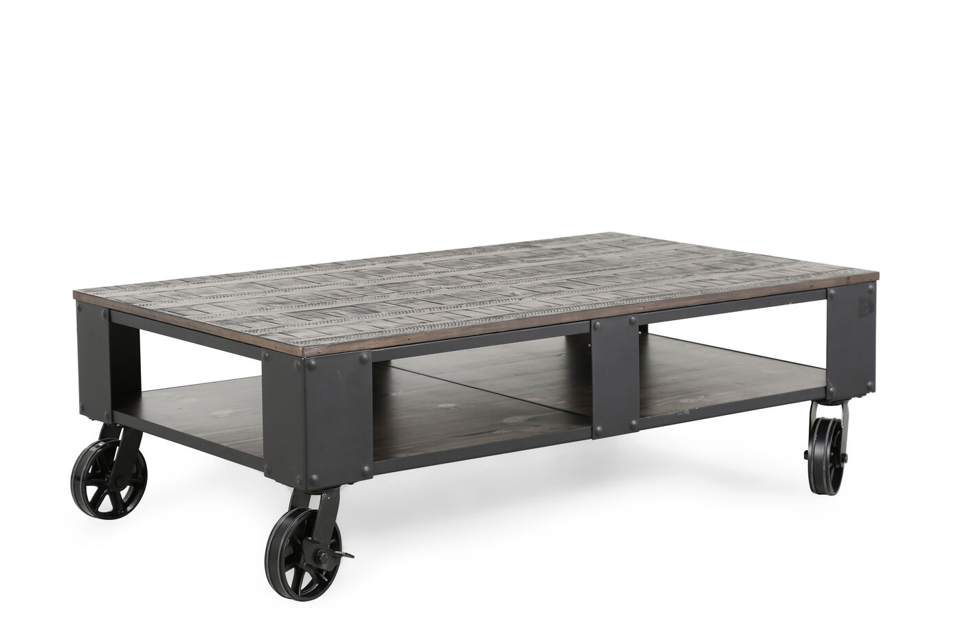 magnussen home milford cocktail table | mathis brothers furniture
