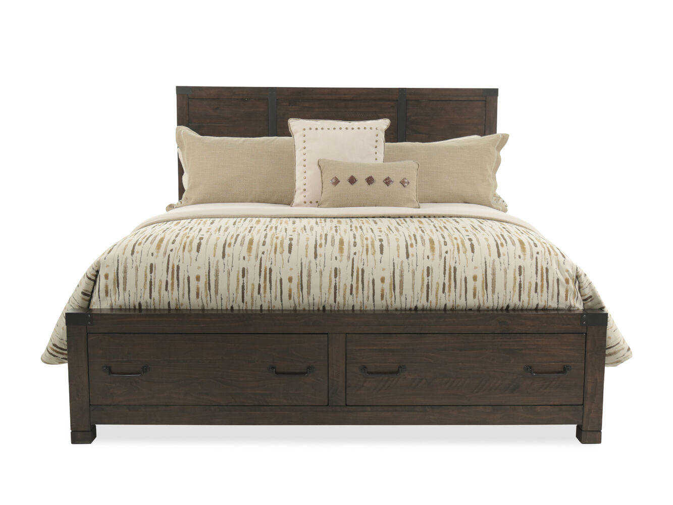Magnussen Home Pine Hill Storage Bed Mathis Brothers Furniture