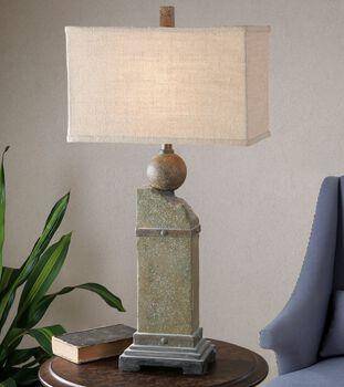 Uttermost Verdellino Moss Gray Table Lamp