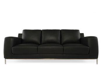 Boulevard Black Track Arm Sofa
