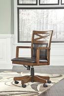 Ashley Burkesville Brown Home Office Desk Chair