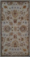 LBJ Hand Tufted Wool Cream  Traditional 8' X 8' Round Rug