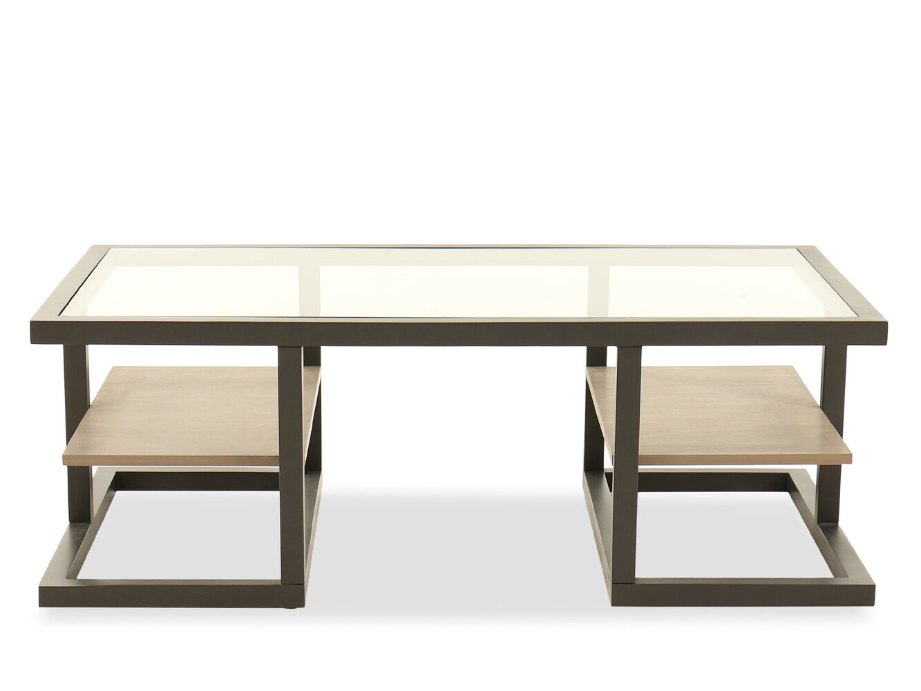 Bernhardt Wheeler Cocktail Table Mathis Brothers Furniture