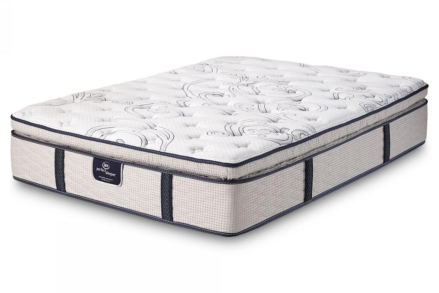 Serta perfect sleeper grand sky plush mattress mathis for Bed mattresses