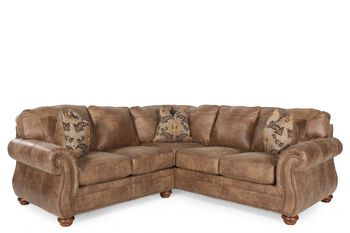 Ashley larkinhurst earth sectional for Sofa bed 91762