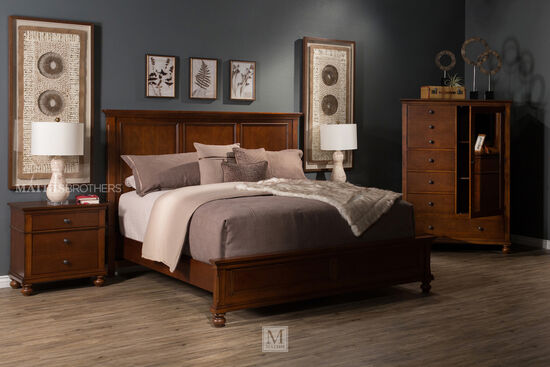 Aspen Oxford Whiskey Brown Chesser Mathis Brothers Furniture