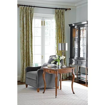 Stanley Arrondissement Rustic Charcoal Salon Cercle Cabinet