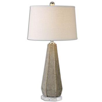 Uttermost Pontius Taupe Lamp