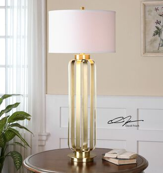 Uttermost Baronia Gold Table Lamp