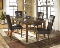 Ashley Lacey Medium Brown Rectangular Dining Room Table