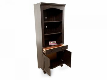 Sauder Black Doors Bookcase