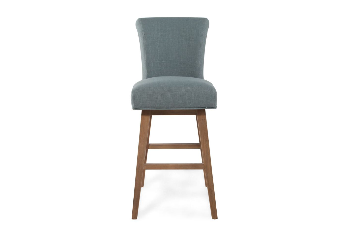 Boulevard Blue Swivel Bar Stool Mathis Brothers Furniture