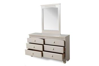 Ashley Cottage Retreat Dresser and Mirror