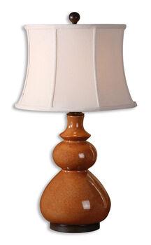 Uttermost Belfast Red Table Lamp