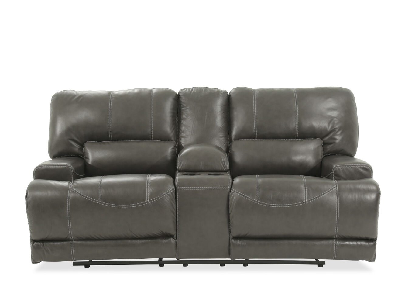 Ashley Mccaskill Gray Power Loveseat Mathis Brothers