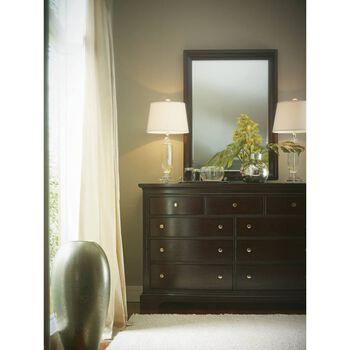 Stanley Transitional Polished Sable Dresser