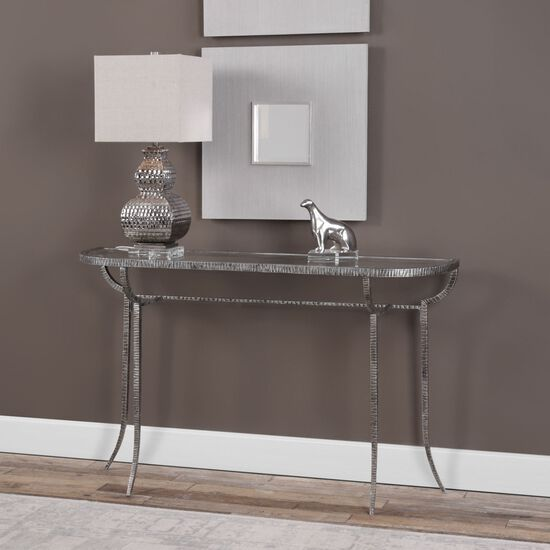 Uttermost Nakoda Forged Iron Console Table
