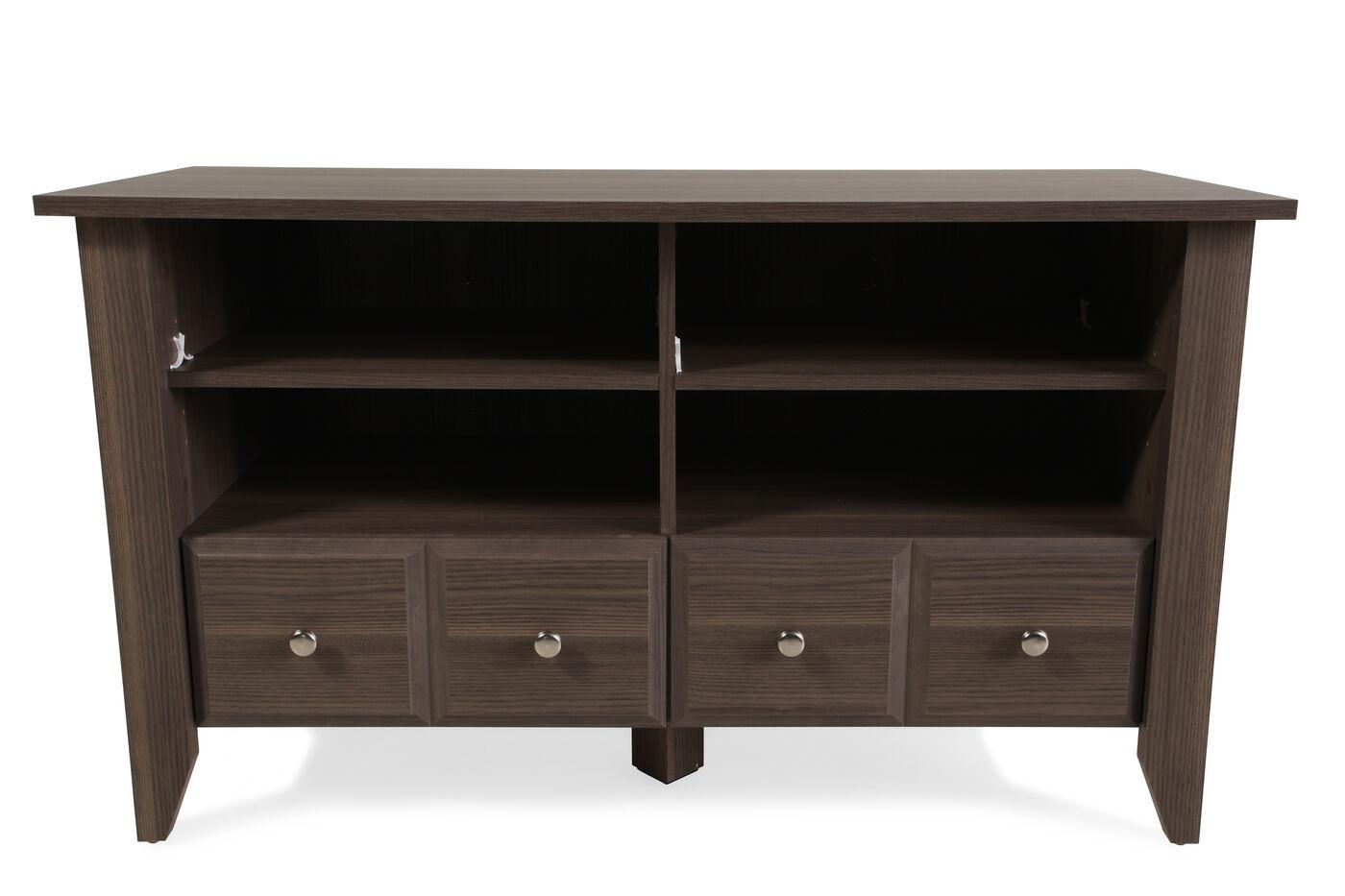 Sauder Tv Cabinet Sauder Diamond Ash Tv Stand Mathis Brothers Furniture