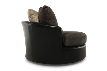 Ashley Masoli Cobblestone Oversized Swivel Chair