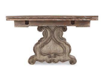 Hooker Chatelet Rectangle Trestle Table