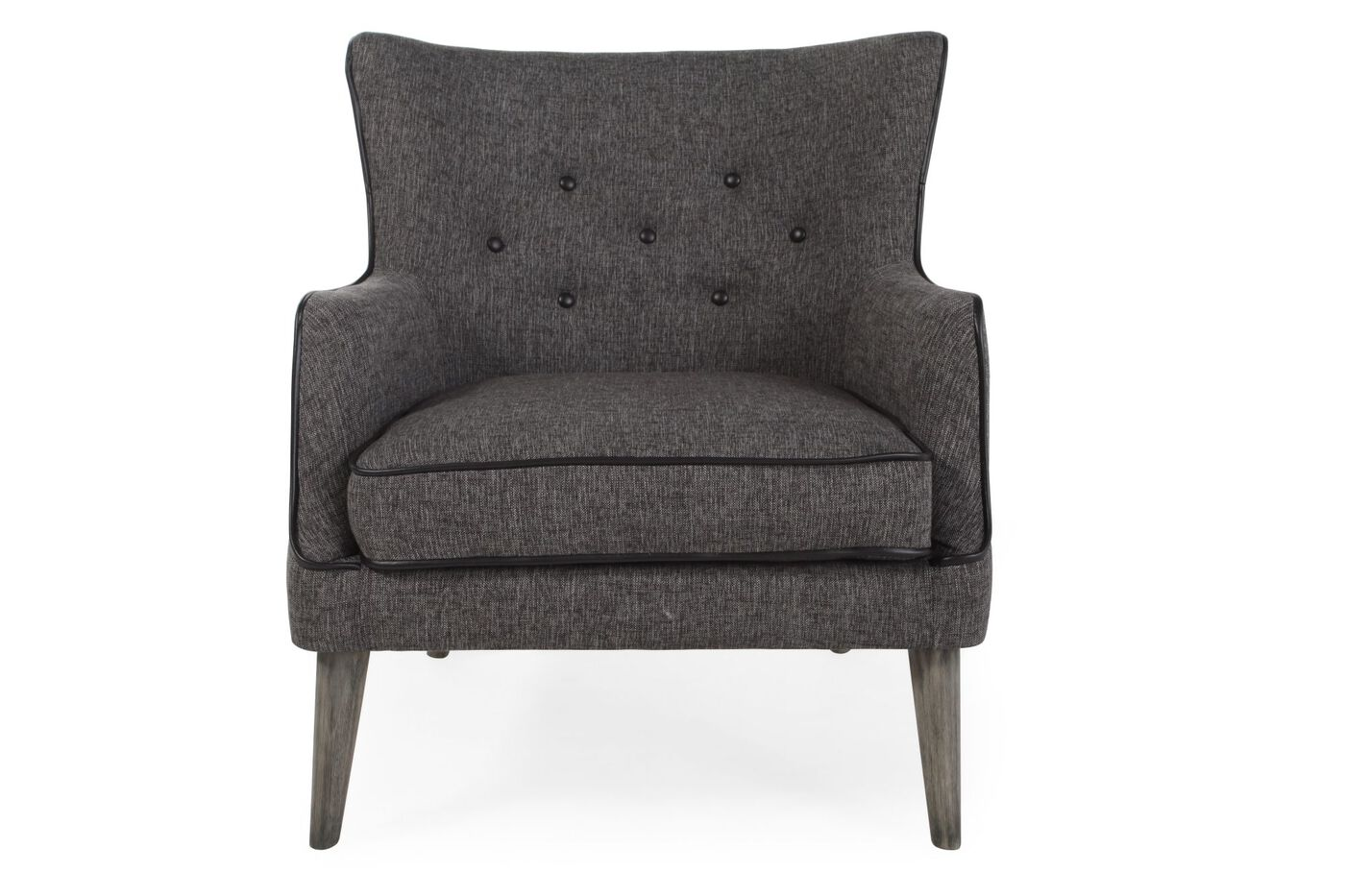 Boulevard Gray Accent Chair. Boulevard Gray Accent Chair   Mathis Brothers Furniture