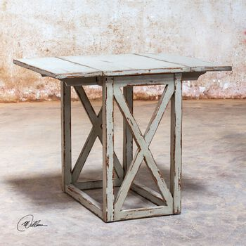 Uttermost Khari Drop Leaf Table