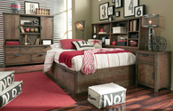 Legacy Fulton County Twin Bookcase Lounge Bed