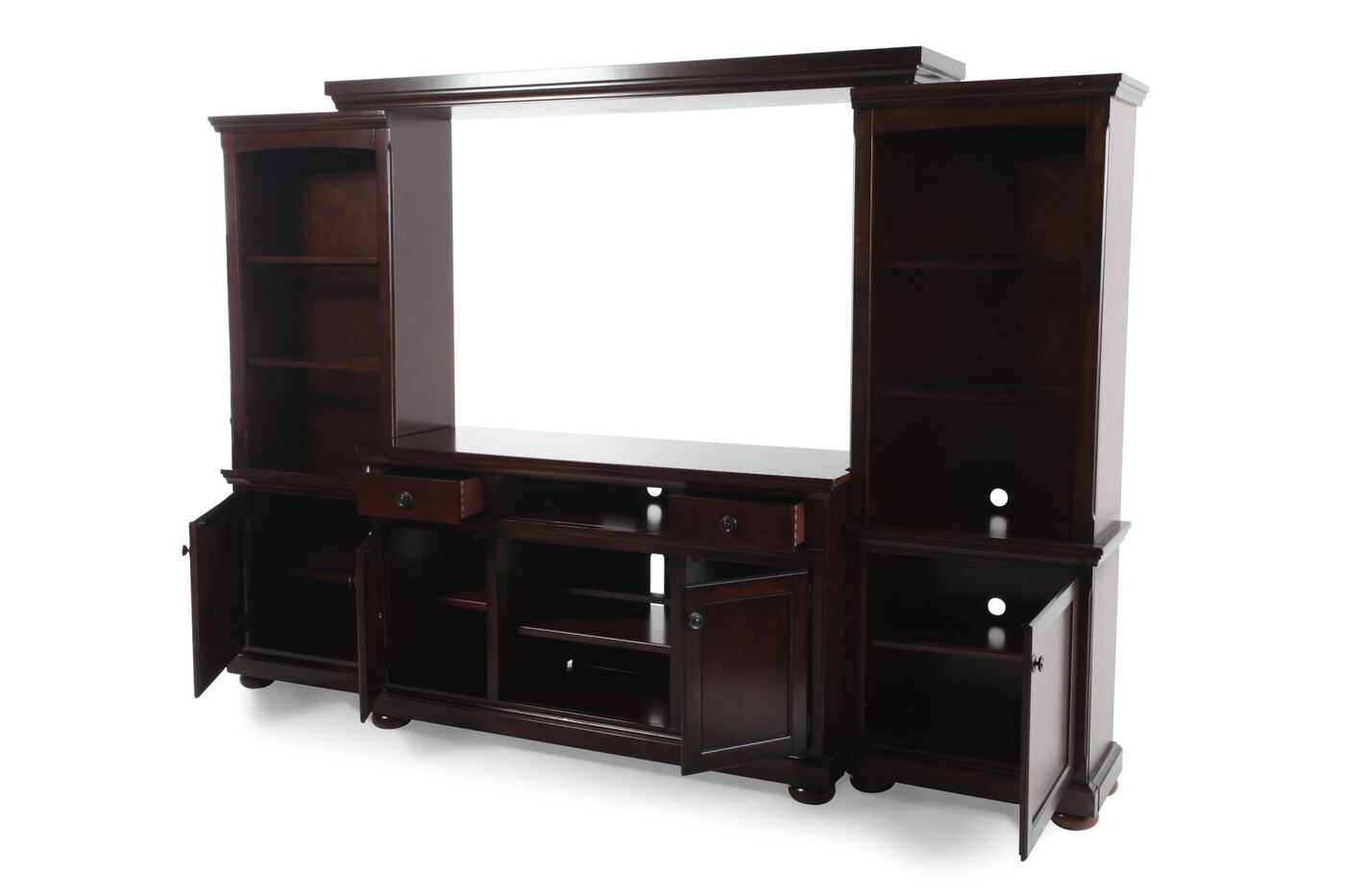 Ashley Millennium Porter Large Wall Unit Mathis Brothers Furniture