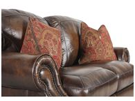 Simon Li Leather Picasso Randwick Loveseat