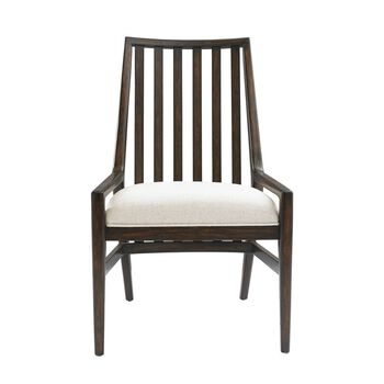 Stanley Newel Date Wood Back Chair