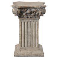 Uttermost Alben Aged Ivory Plinth