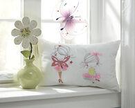 Ashley Mariaville White Pillow
