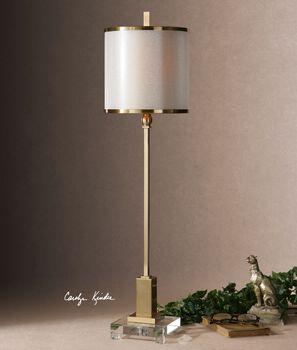 Uttermost Villena Brass Buffet Lamp