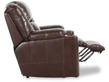 Ashley Paramount Brindle Theater Chair with Power