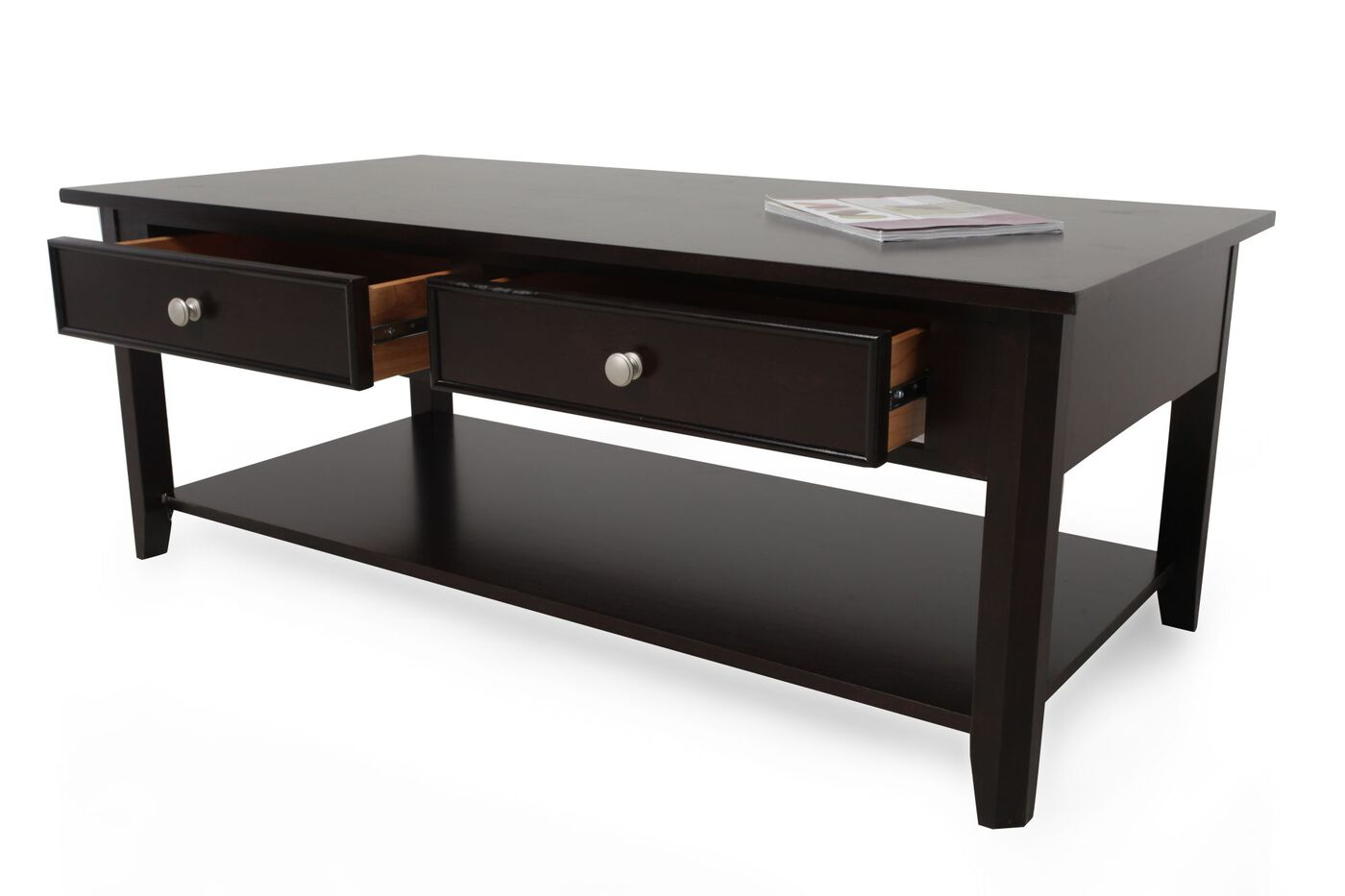 Winners Only Metro Cocktail Table Mathis Brothers Furniture