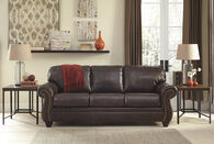Ashley Bristan Walnut Sofa