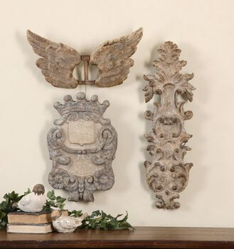 Uttermost Rustic Artifacts, S/3