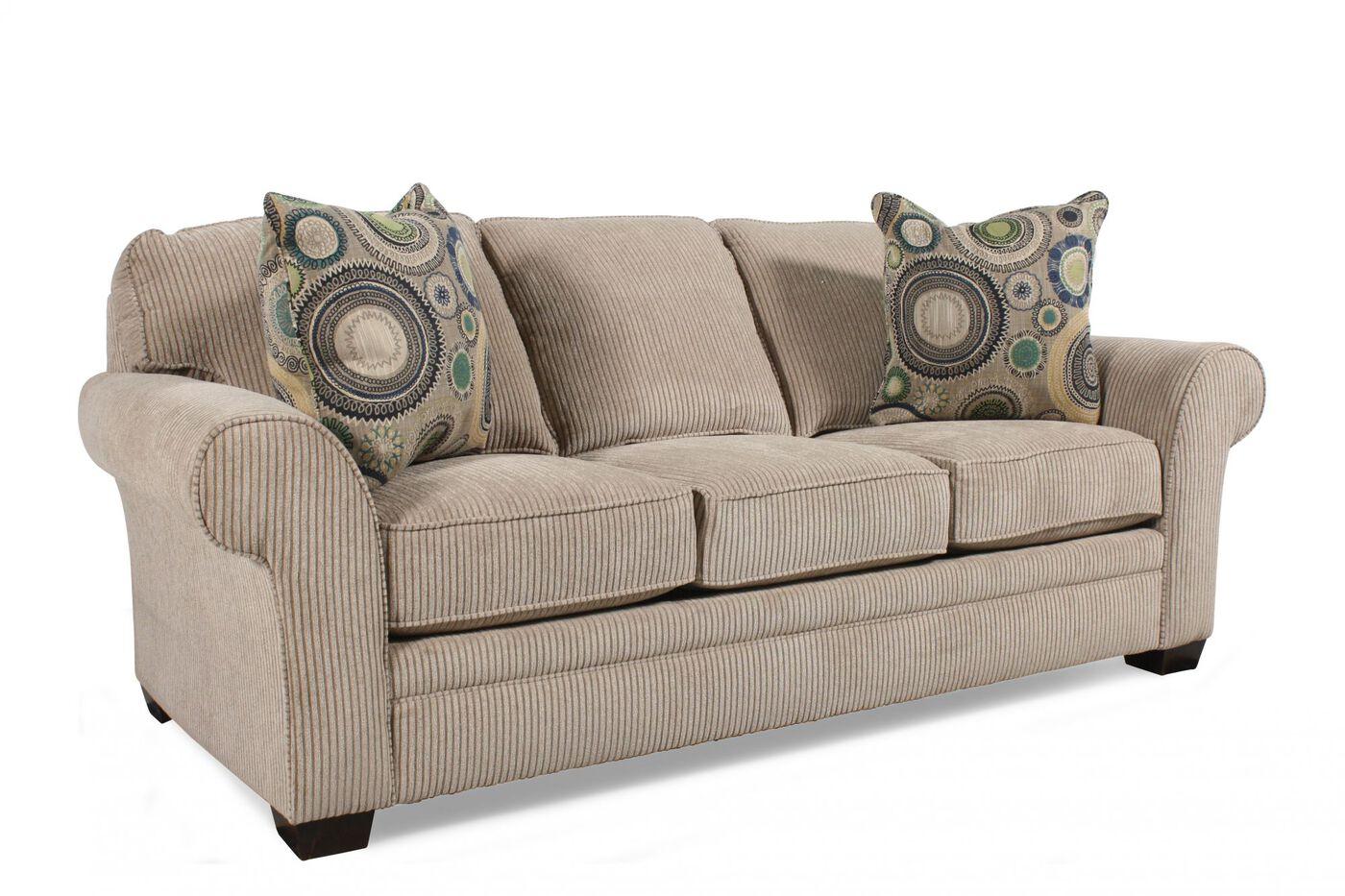 Broyhill Zachary Queen Sleeper Sofa Mathis Brothers