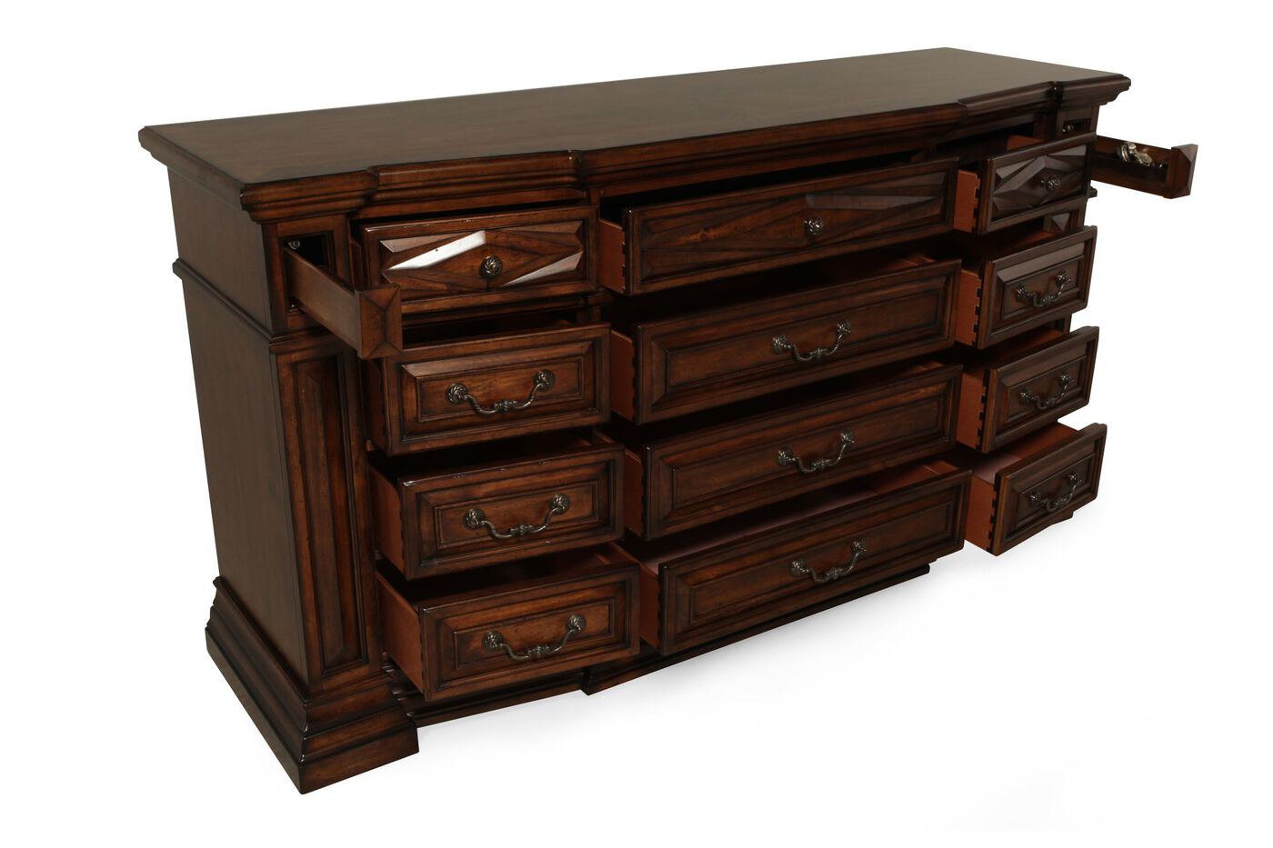 A R T Furniture Marbella Triple Dresser Mathis Brothers