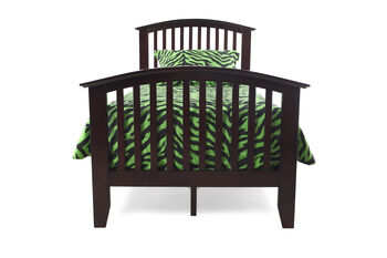 Crown Mark Lawson Twin Bed with Rails