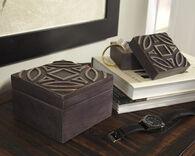 Ashley Marquise Antique Black Box (set Of 2)