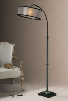 Uttermost Worland Arc Floor Lamp