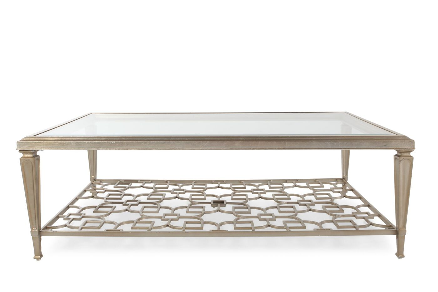Caracole Socialite Cocktail Table Mathis Brothers Furniture