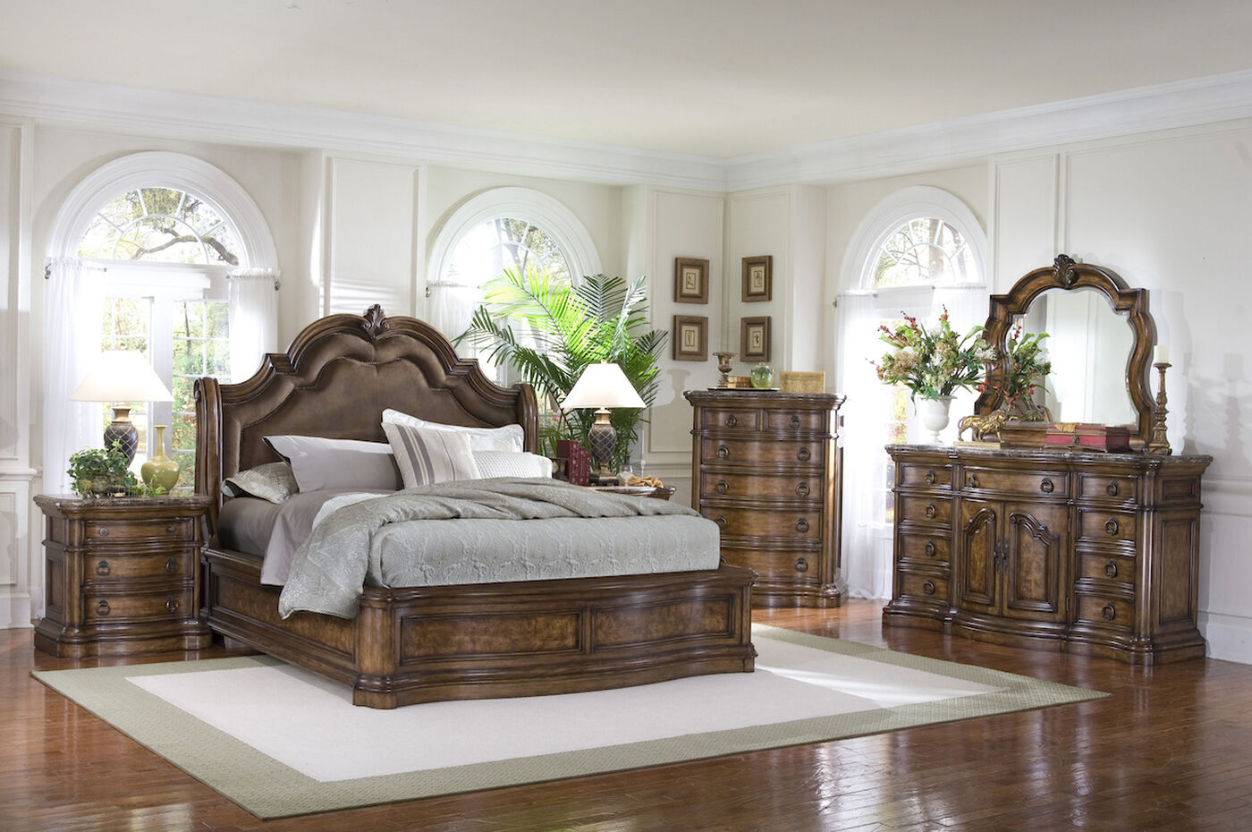 Pulaski Bedroom Furniture Pulaski San Mateo Sleigh Bed Mathis Brothers Furniture