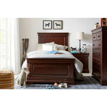 Stone & Leigh Teaberry Lane Midnight Cherry Full Panel Bed