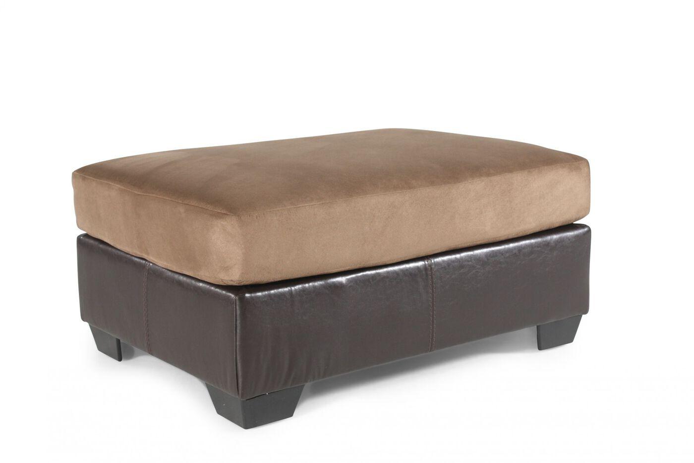 Ashley Masoli Mocha Ottoman Mathis Brothers Furniture