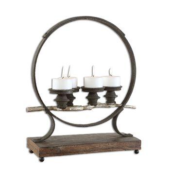 Uttermost Mathis Iron Candleholder