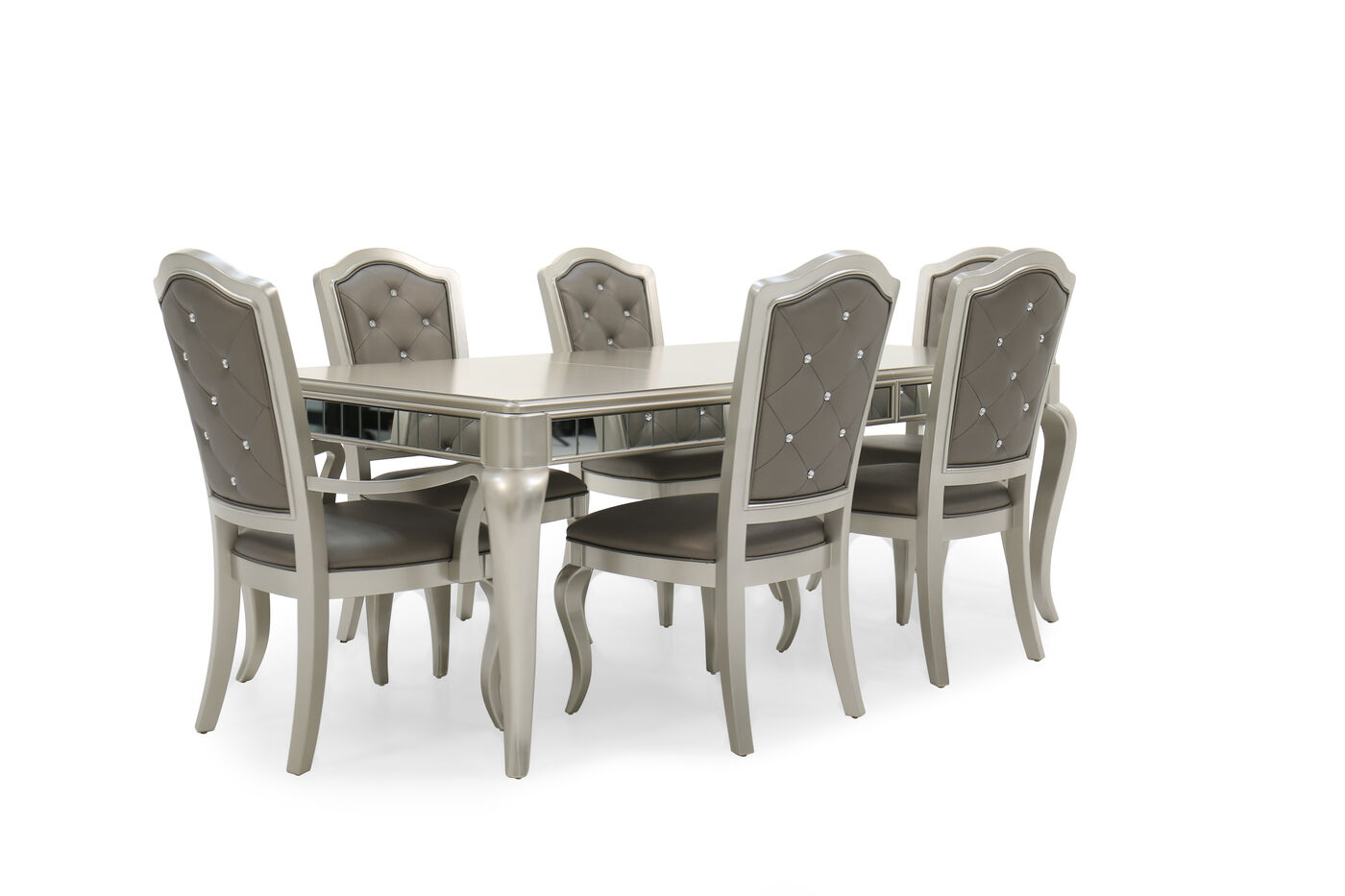 Samuel Lawrence Diva Seven-Piece Dining Set | Mathis Brothers ...