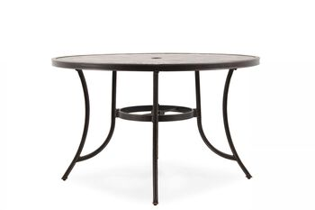 World Source Athens Round Table with Ceramic Top