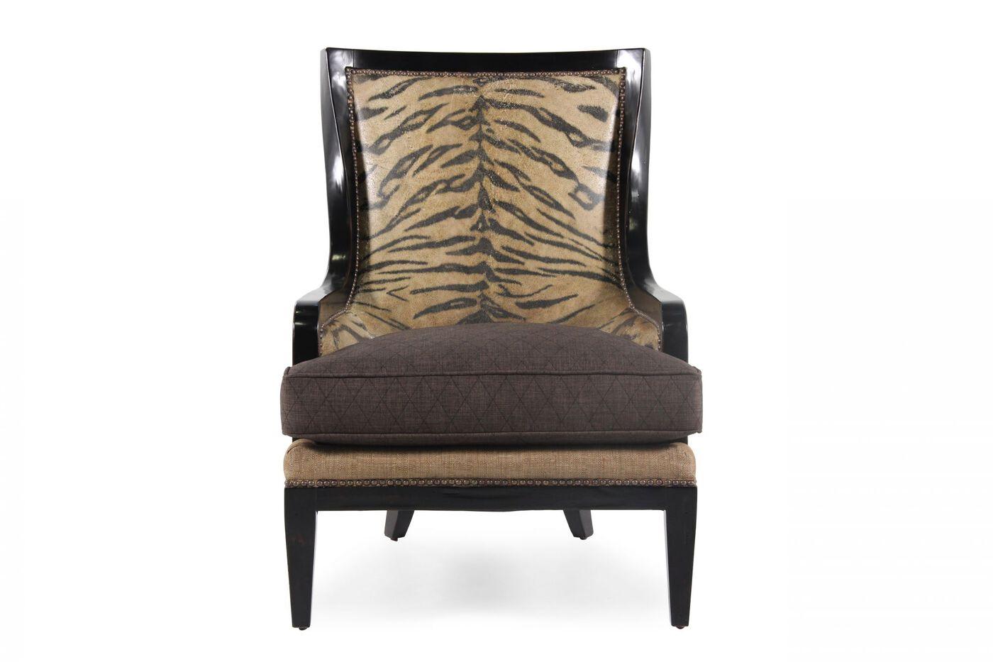 A R T Furniture Foundry Zebra Accent Chair